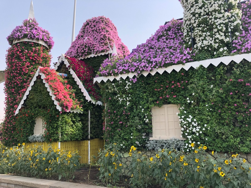 Places to visit in Dubai - Miracle Garden