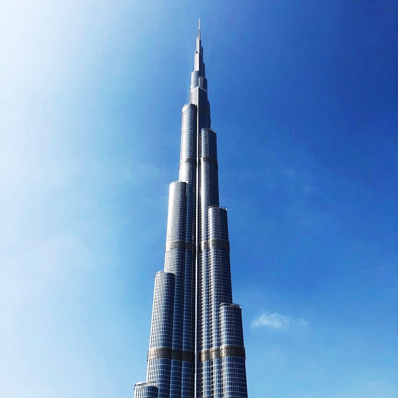Places to visit in Dubai - The Burj Khalifa