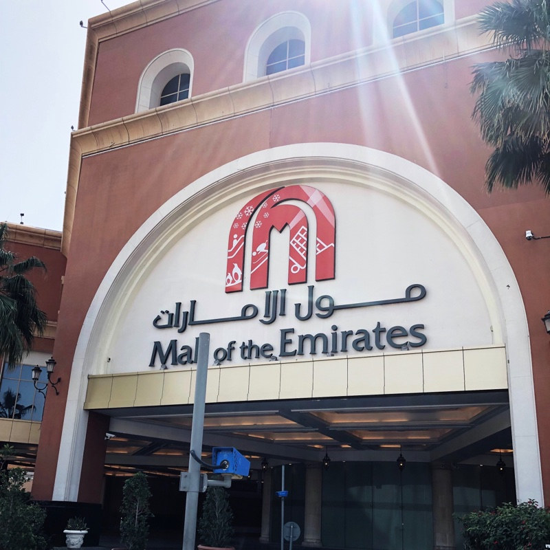 Places to visit in Dubai - Mall of the Emirates