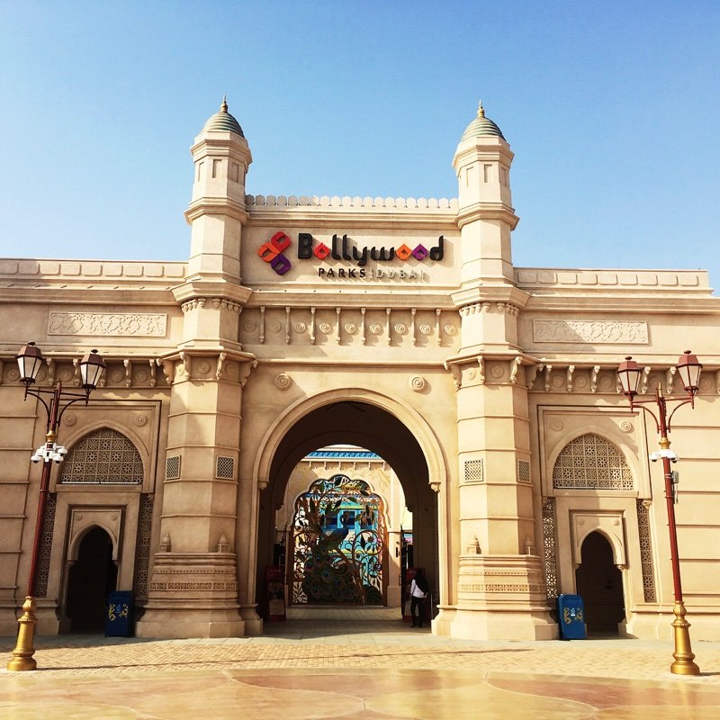 Places to visit in Dubai - Bollywood Park