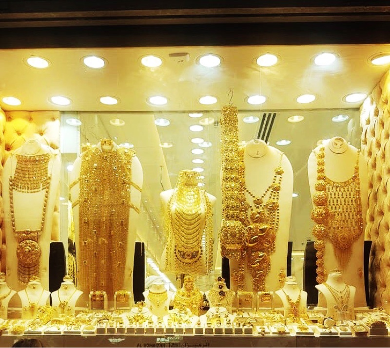 Places to visit in Dubai -Dubai Gold Souk