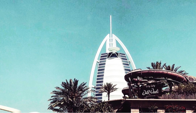 Places to visit in Dubai - Burj Al Arab