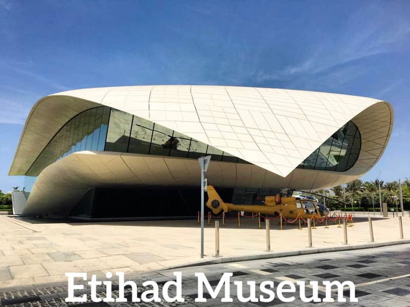 Places to visit in Dubai - Etihad Museum