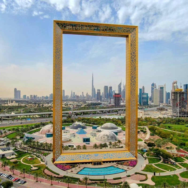 Places to visit in Dubai - The Dubai Frame