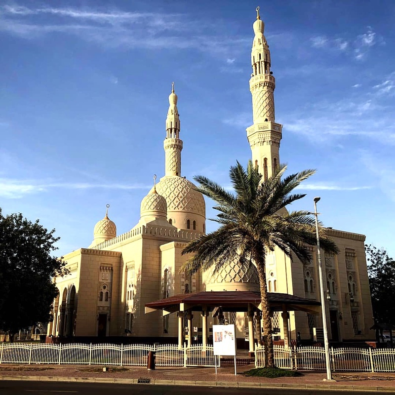 Places to visit in Dubai - Jumeirah mosque