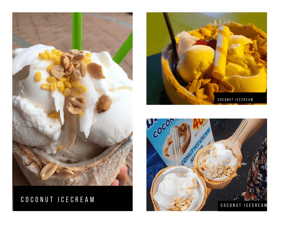 Coconut Ice cream Krabi