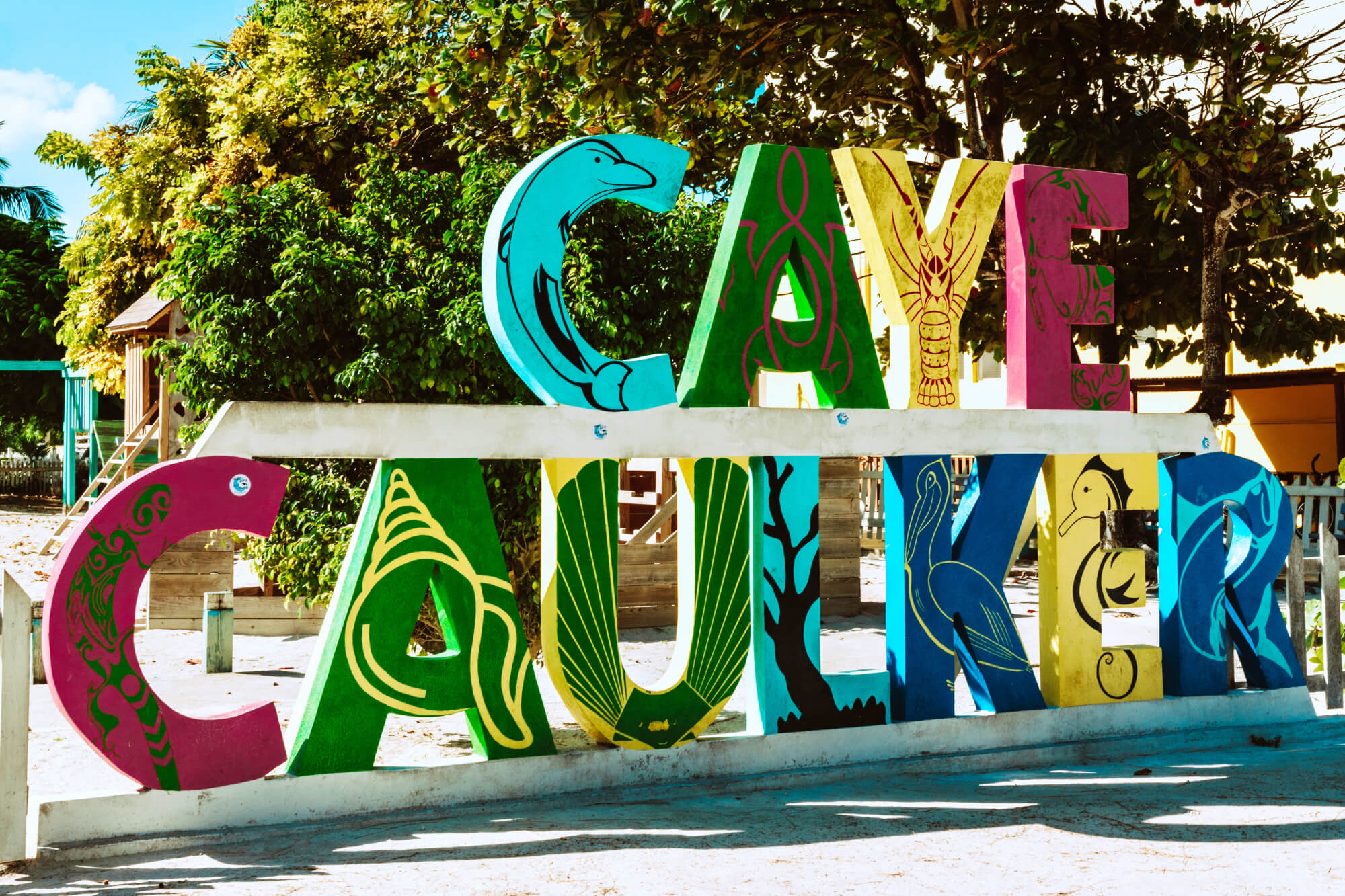Caye Caulker Sign Belize