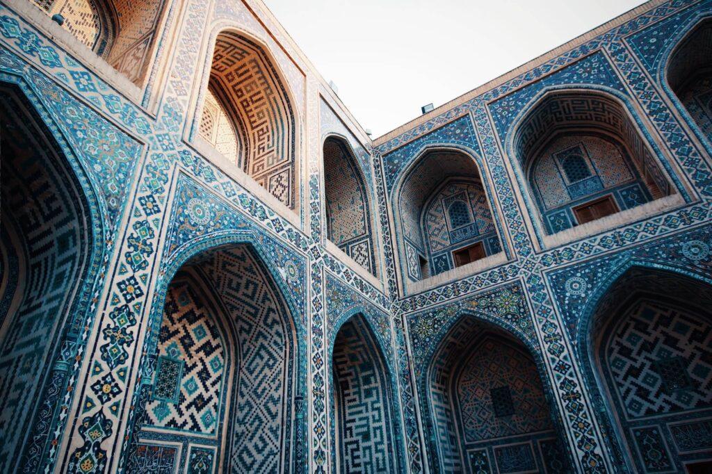 Registan Street, Samarkand, Uzbekistan