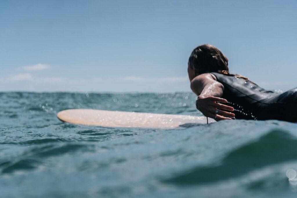Surfing in Tauranga, New Zealand