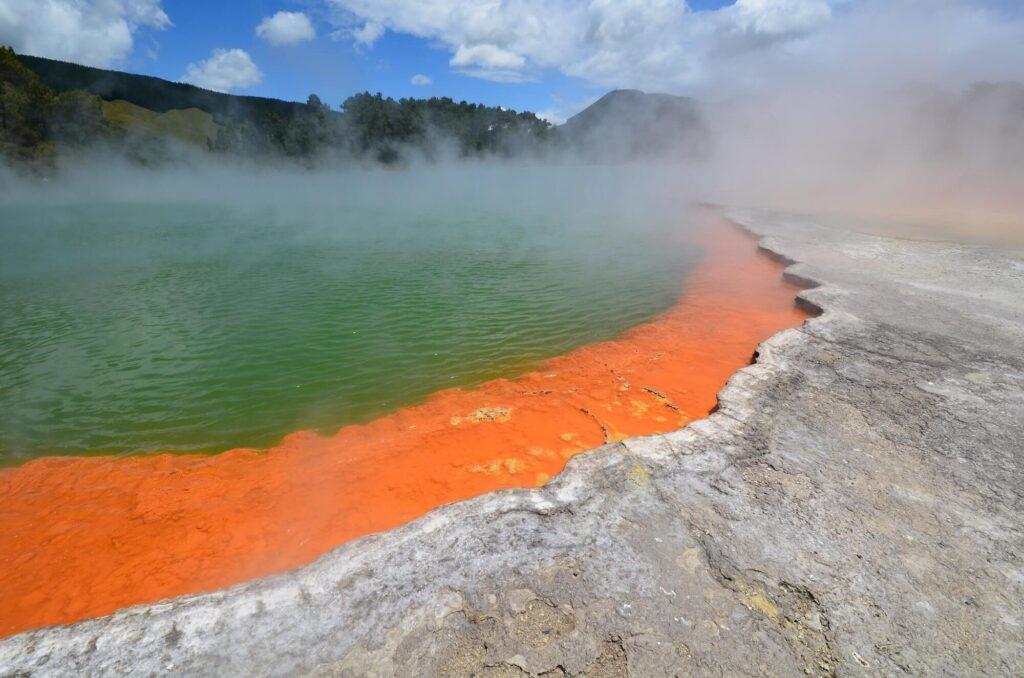 Waiotapu Thermal Wonderland, Tauranga, New Zealand