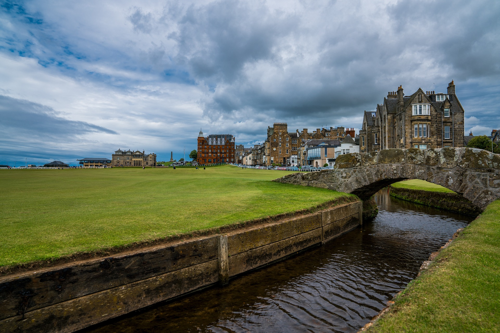 Old Course at St Andrews, Fife, Scotland