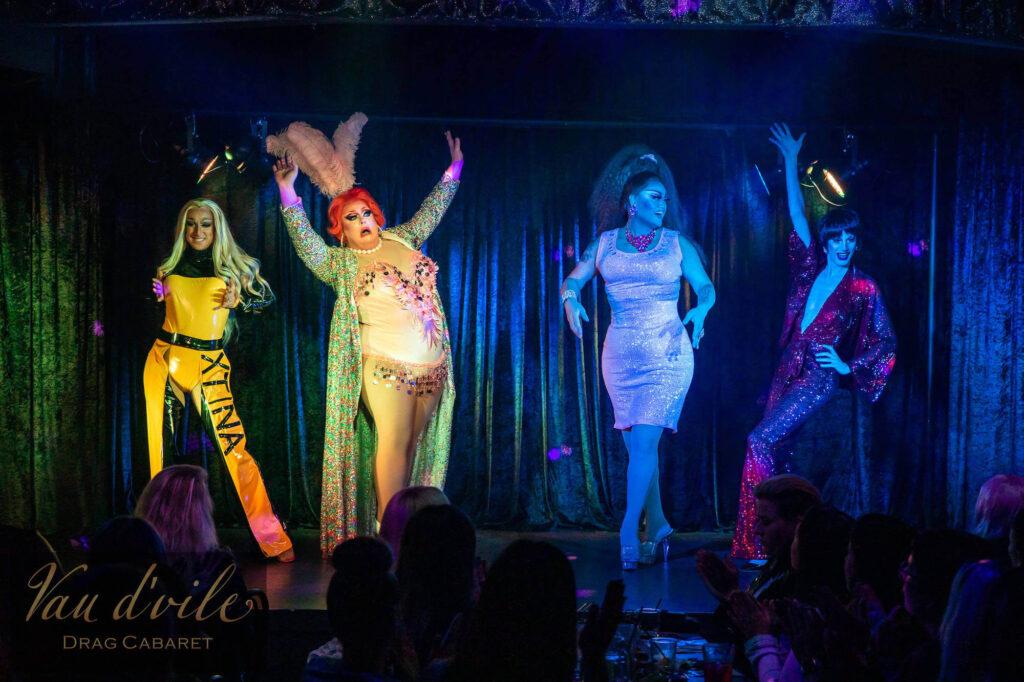 Vau d'vile Vixens - Divas Show