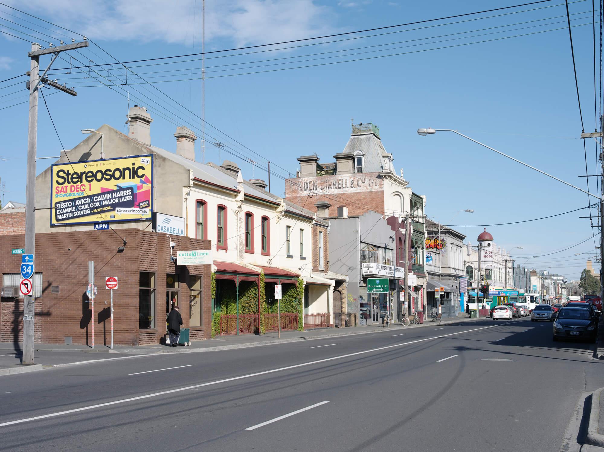 Johnstone Street, Fitzroy, Melbourne