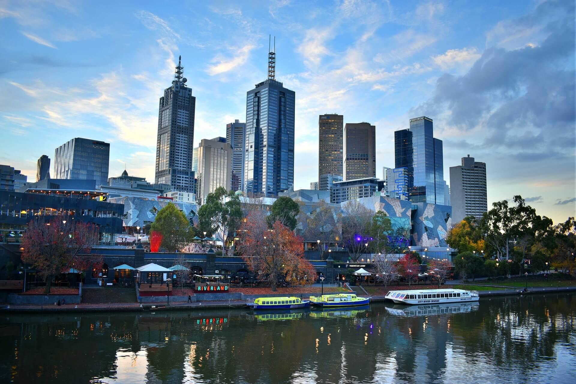 Melbourne Skyline, Australia