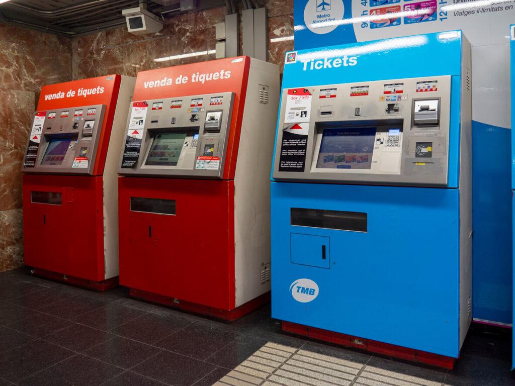 Barcelona Metro Tickets
