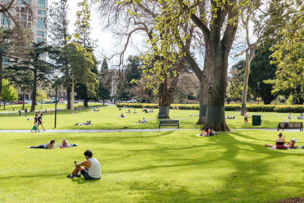 Carlton Gardens, Melbourne