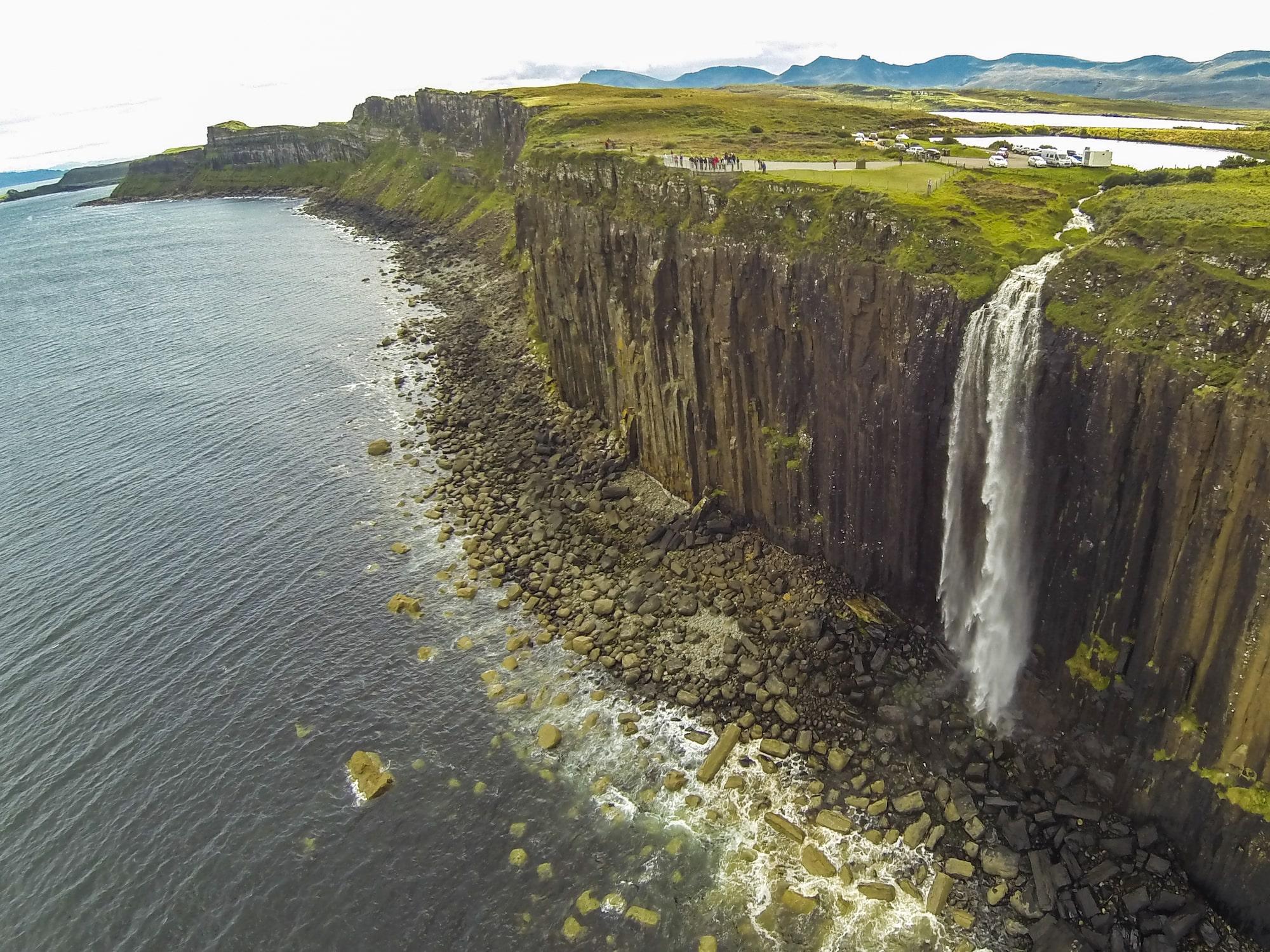 Mealt Waterfall, Kilt Rock