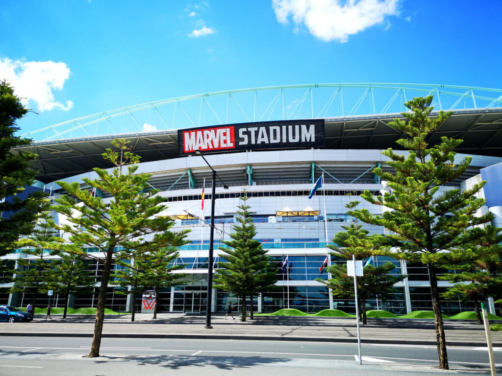 Marvel Stadium, Docklands, Melbourne